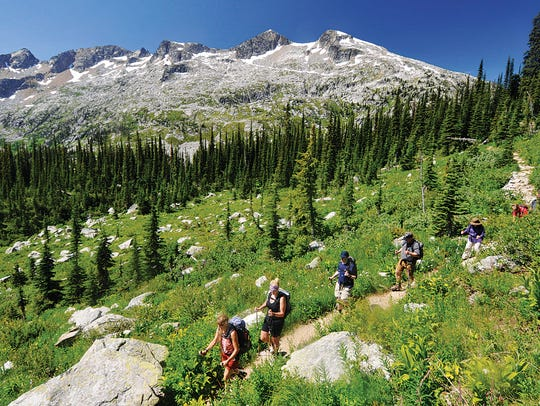 Mountain Trek in Nelson, British Columbia