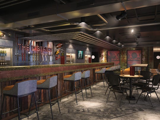The District Brewhouse on the new Norwegian Bliss.
