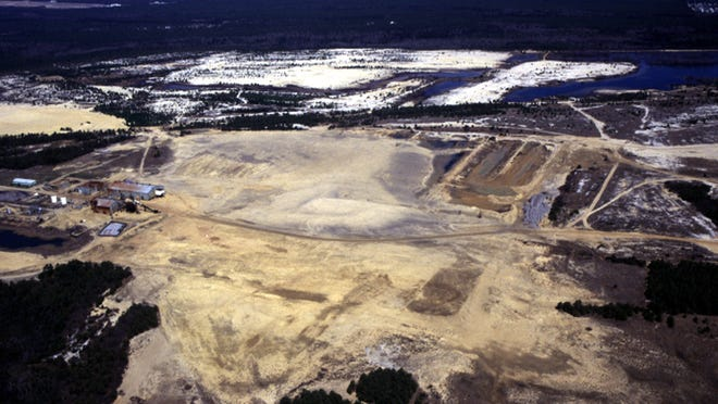 Heritage Minerals' quarry could someday soon be the site of Manchester's newest housing development.