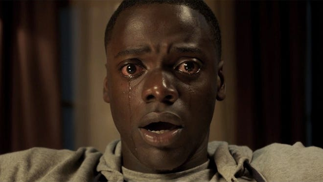 "Daniel Kaluuya enters ""the sunken place"" in ""Get Out."""