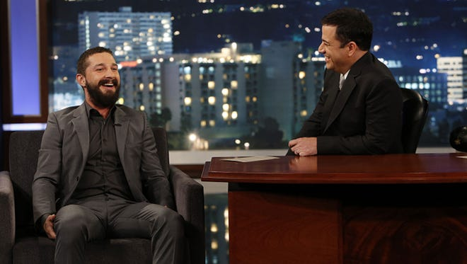 Shia LaBeouf chats with Jimmy Kimmel.