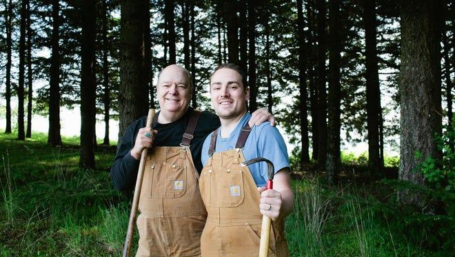 Jack Czarnecki (left) and his son, Stefan, are spreading the joy of Oregon truffles through their unique Oregon White Truffle Oil and Oregon Black Truffle Oil.