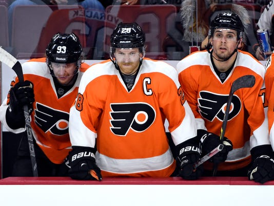 NHL: Colorado Avalanche at Philadelphia Flyers