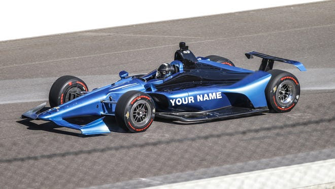 Ever wonder what it would take to see a car with your name on it entered in the Indianapolis 500?