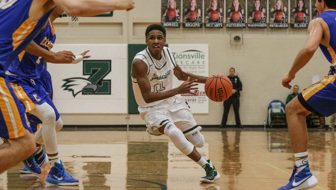 Zionsville's Isaiah Thompson, brother of Purdue point guard P.J. Thompson, is garnering plenty of recruiting attention.