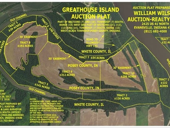 Greathouse Island Auction Plat