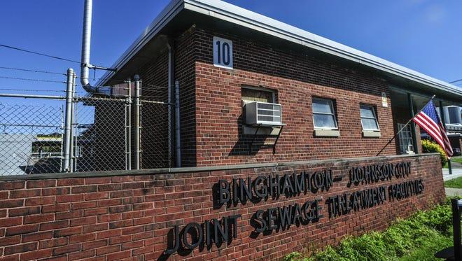The Binghamton-Johnson City Joint Sewage Treatment plant