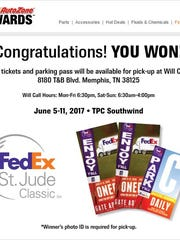 AutoZone email: You're a winner!