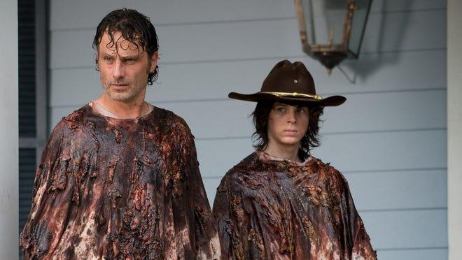 """The Walking Dead"" returns at 9 p.m. Sunday on AMC."
