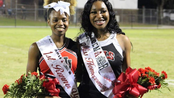 The Wade Hampton High School 2020 Homecoming Queen is Taniaya Murray, at right, and the First Runner Up is Tashare Johnson.