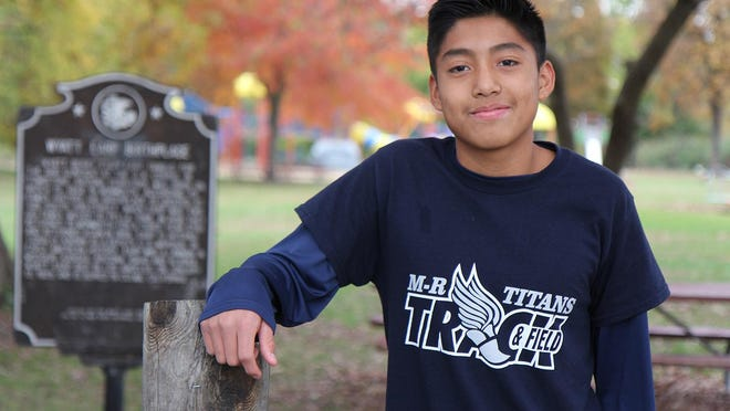 Monmouth-Roseville High School sophomore Rafael Francisco will compete in the Seneca Sectional on Saturday.