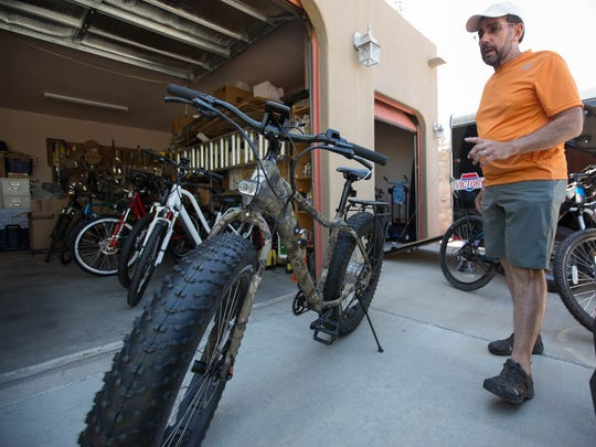 James Toth, co-owner of E-Bikes of Southern New Mexico, talks about the different types of e-bikes he sells, including e-bikes built to handle off-road and rough terrain.