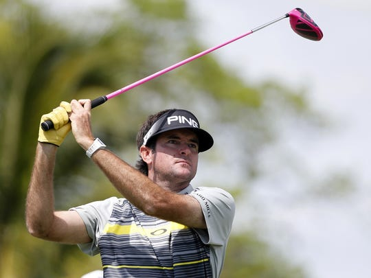 Golfer Bubba Watson  is one of 25 athletes fans should follow on social media during the Olympics. (AP Photo/Wilfredo Lee, File)