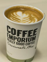 A Latte from Coffee Emporium.