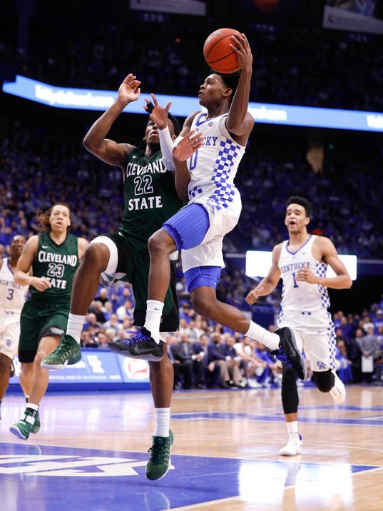 UK Basketball | Ruling made on De'Aaron Fox triple-double