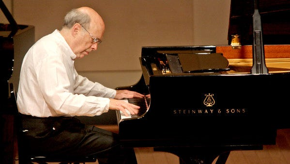 American pianist Victor Rosenbaum will perform at 7:30 p.m. on Friday, Nov. 13, at the Franciscan Center for Music Education and Performance on the campus of Silver Lake College, 2406 S. Alverno Road.