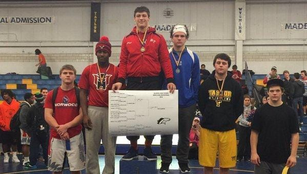 Bethel-Tate's Jeffrey Botts was the 182-pound champion of the Madeira Invitational and was named the most outstanding wrestler.