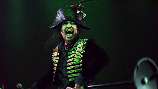 """Photos from the Adam Ant """"Kings of the Wild Frontier"""" concert at the Rialto Theater, Feb. 11, 2017."""