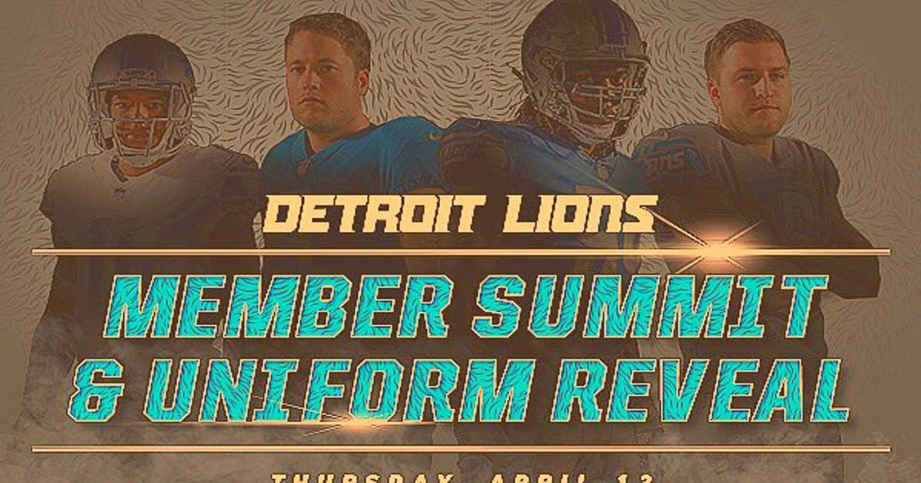 90cfeef3121 Image appears to show new Lions uniforms