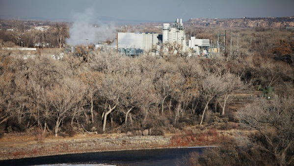 The Bluffview Power Plant, as seen from a utility road southeast of it's location, in a file photo from Jan. 2010, will have a new and power-generating neighbor if plans for a new solar array happen on land near the plant.