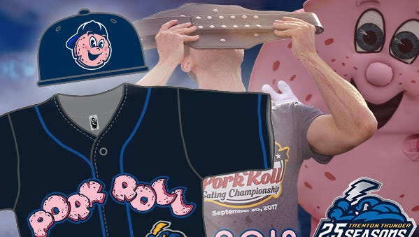 The Trenton Thunder will now become the Trenton Pork Roll on Fridays starting May 18.