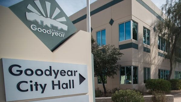 Goodyear announced resident's debit and credit card information may have been compromised in security breach.