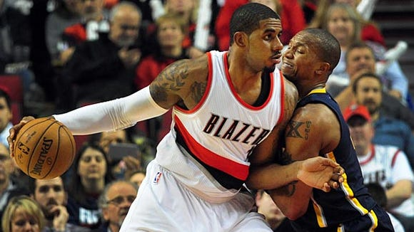 Holding off Portland's LaMarcus Aldridge wasn't the only thing on David West's mind this week