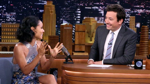 Jada Pinkett Smith on 'The Tonight Show' with Jimmy