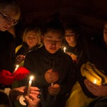 Candlelight vigil focuses on healing after Aztec High School shooting