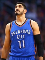 Enes Kanter has played for the Oklahoma City Thunder since 2015.