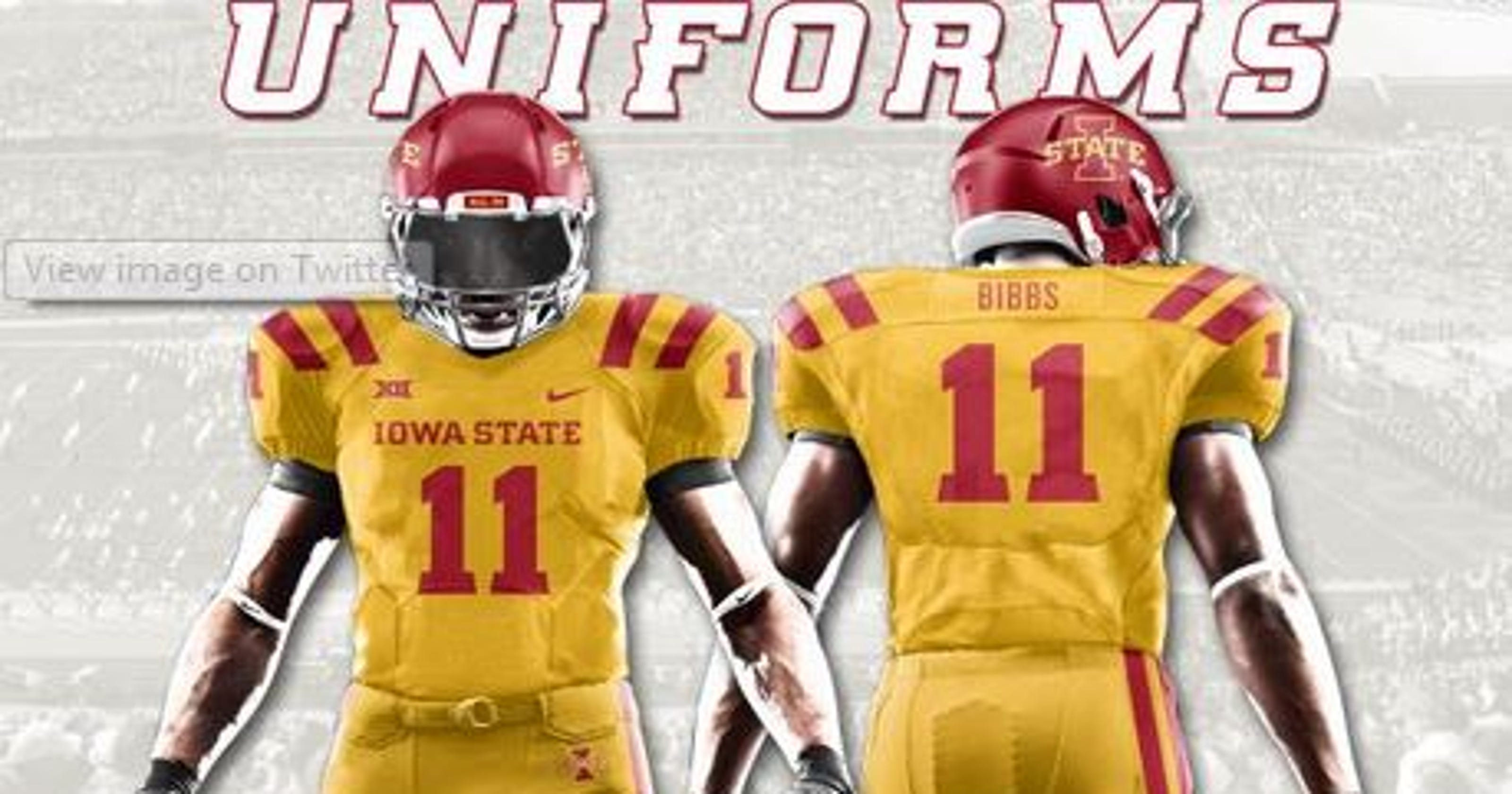 half off 4e428 aa6d9 Iowa State announces bold uniform choice for Toledo game