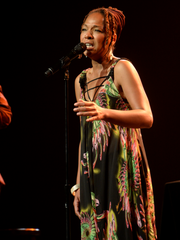 Lisa Simone opened for Melody Gardot at the Festival