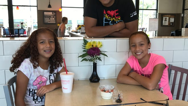Andrik Echevarria, assembly supervisor at the Continental plant in Fletcher, loves the freedom that summer affords his daughters, but knows it's now time to get back on track before the school year starts.