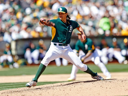 MLB: San Francisco Giants at Oakland Athletics