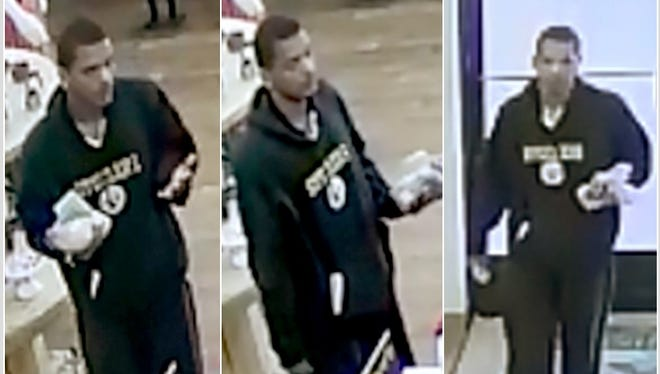 Las Cruces Crime Stoppers is offering a reward of up to $1,000 for information that helps identify the man suspected of carjacking a Toyota Prius from a 76-year-old man on Feb. 23.