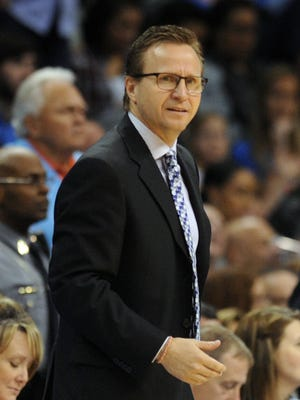 Scott Brooks was fired as Thunder coach   after seven seasons with the club.