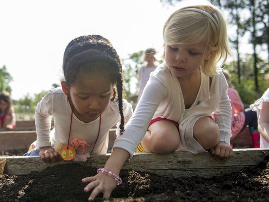 Hutchison early childhood girls make new discoveries