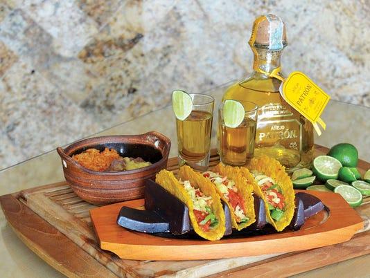 Cocina Madrigal | trio of tacos