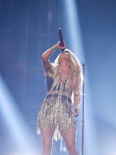 Carrie Underwood performs during the 53rd Academy of