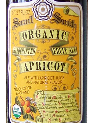 Organic Apricot Samuel Smith Brewery, Tadcaster, North Yorkshire, United Kingdom
