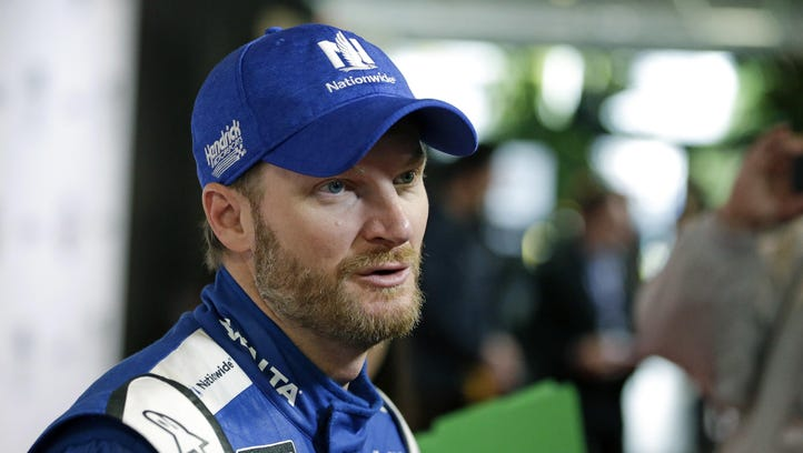 Dale Earnhardt Jr. is returning to the race track after