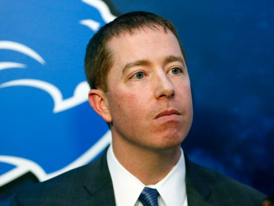 Detroit Lions GM Bob Quinn.