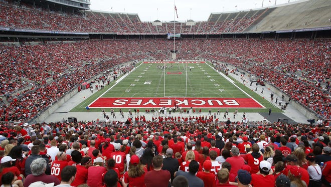 Ohio State University has received confidential reports alleging sexual misconduct from male athletes in eight sports as it continues its investigation into allegations against a former university doctor, the university said Thursday.