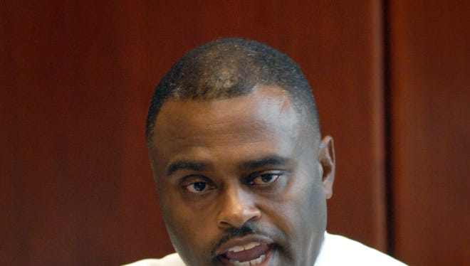 Hinds County Sheriff candidate Tyrone Lewis in 2011.