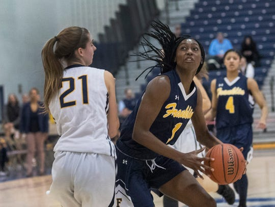 Franklin's  Diamond Miller drives around Toms River