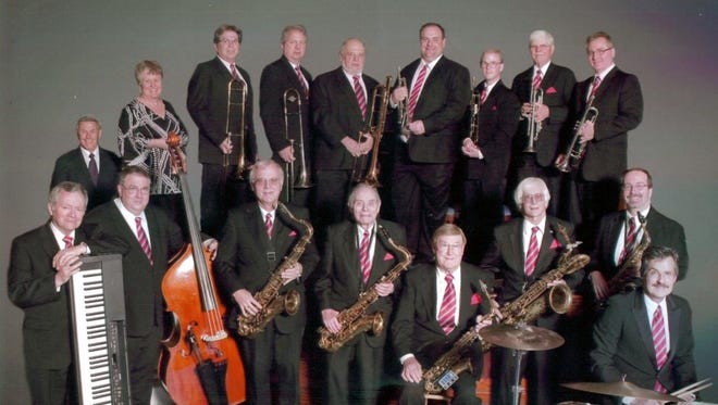 The Mason Warrington Orchestra performs Sunday at the Schorr Family Firehouse Stage.