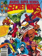 "Jim Shooter wrote the 80s Marvel crossover series ""Secret Wars."""