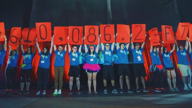 The revealing of this year's BSUDM total.