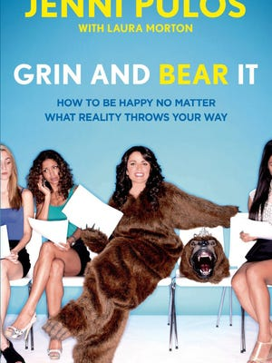 Grin and Bear It: How to Be Happy No Matter What Reality Throws Your Way by Jenni Pulos, book cover.