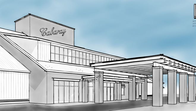A rendering of the CabaRay entertainment venue Ray Stevens plans on River Road in West Nashville.